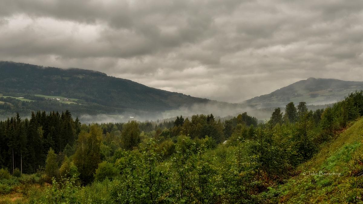 Triest weer aan de zweeds Noorse grens