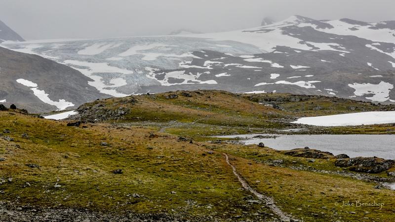 Een gletsjer op loop afstand