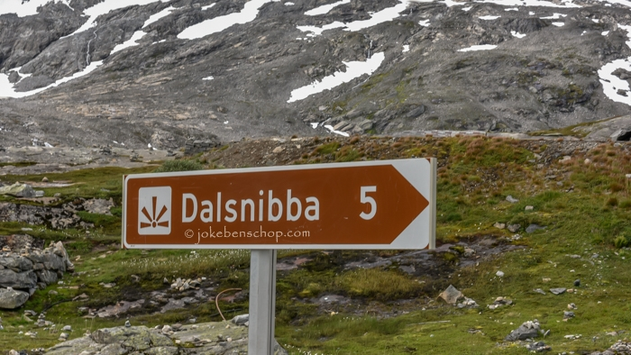 Dalsnibba geweldig uitkijkpunt op Fjord Geiranger.