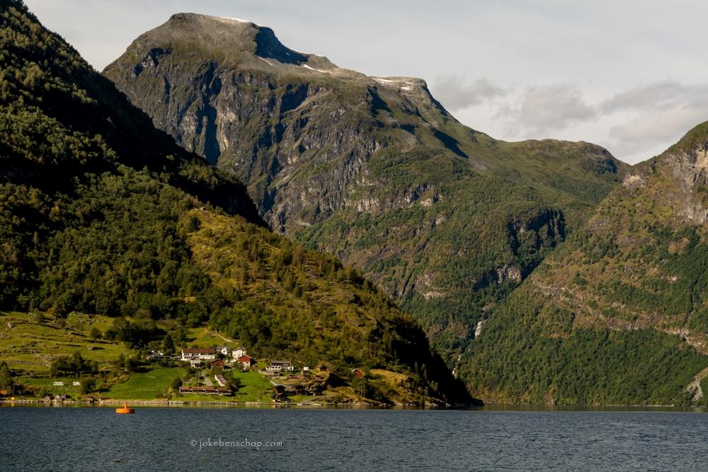 Geirangerfjord vanaf de pier