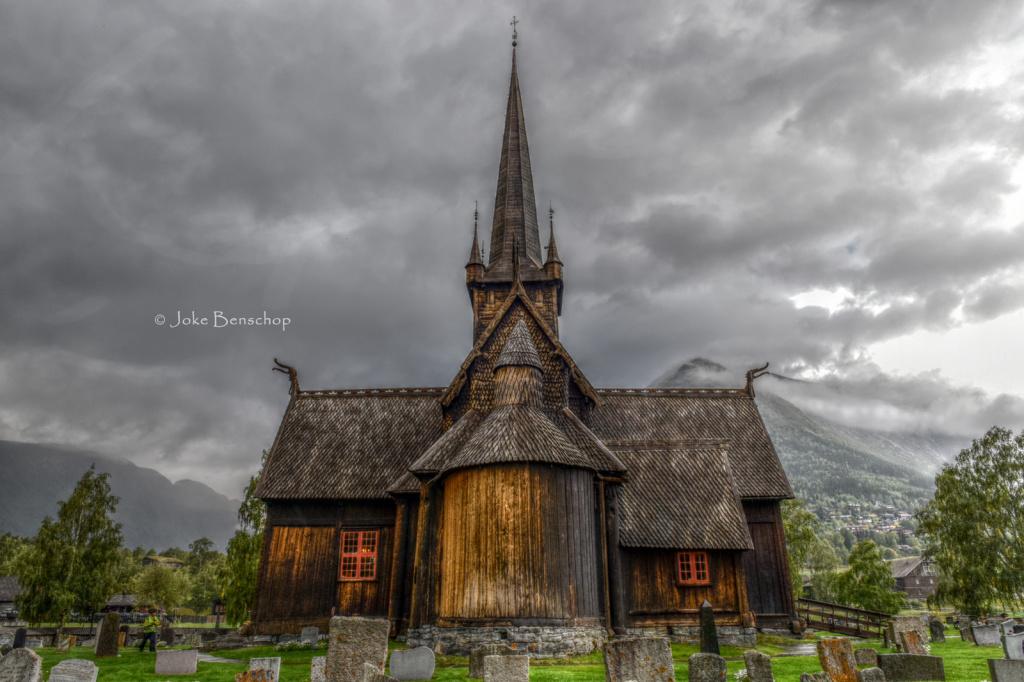 Staafkerkje van Lom in HDR