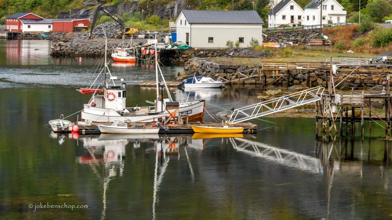 Vissersboot Lofoten