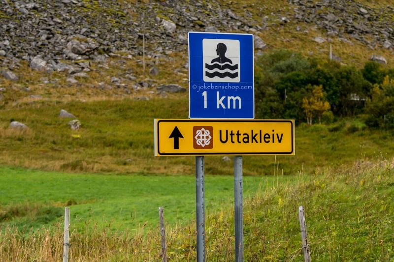 Uttakleiv lofoten Norway