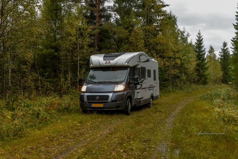 Met de camper naar Finland