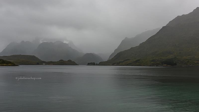 Uitzicht op Trollfjord
