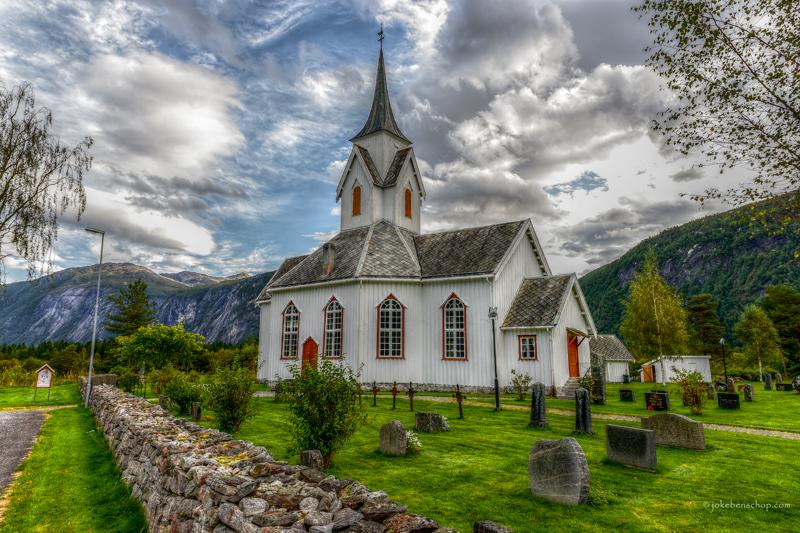 Sira Kirke Norway HDR