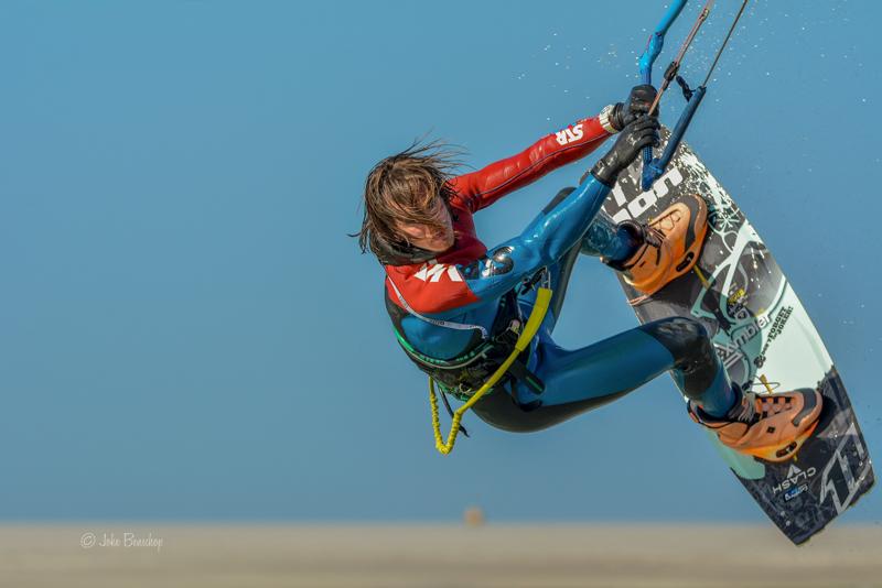 Kitesurfen fotograferen in de lucht