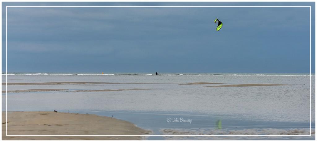 Kitesurfen fotograferen met snelheid