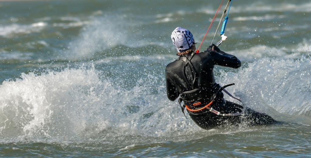 Kiter zonder board