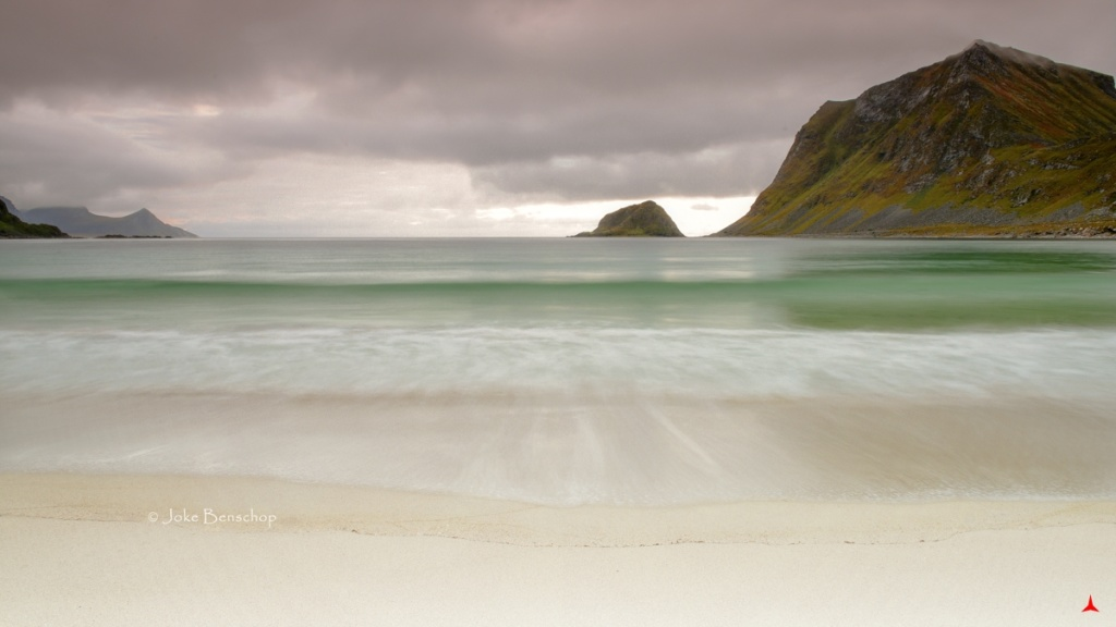 Haukland Beach Lofoten Norway