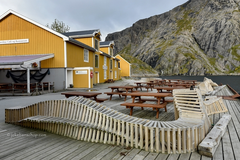 Nusfjord cafe