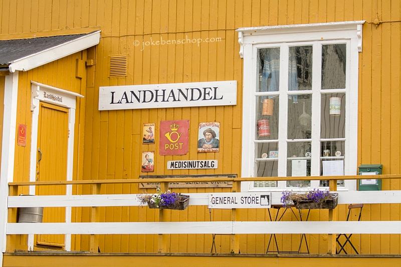 Nusfjord winkel