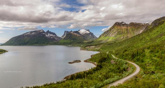 Meerijden met de camper naar Reine Lofoten Norway