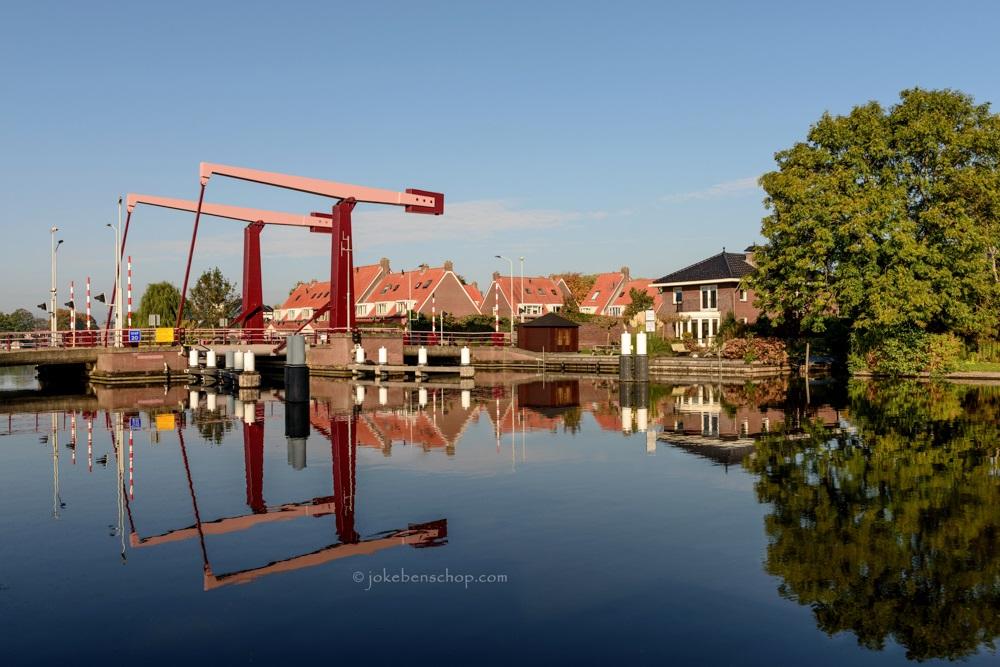 Broekvelderbrug over de Oude Rijn in Bodegraven-Reeuwijk