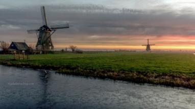 Windmills at Aarlanderveen