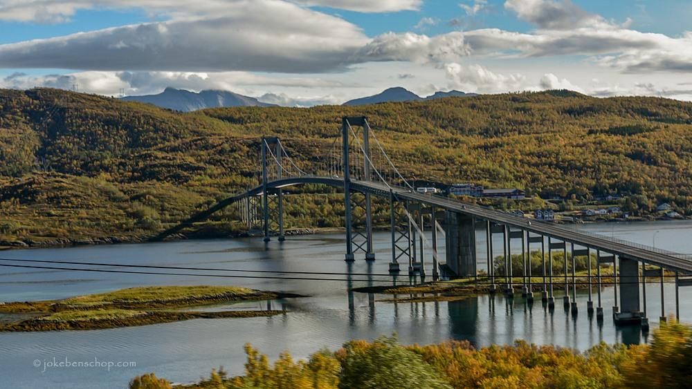 Rombaksbrug op de A6 richting Narvik