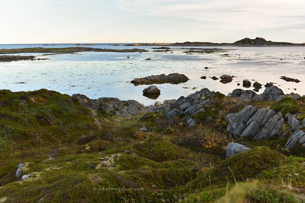 De westkust van Vesterålen Norway