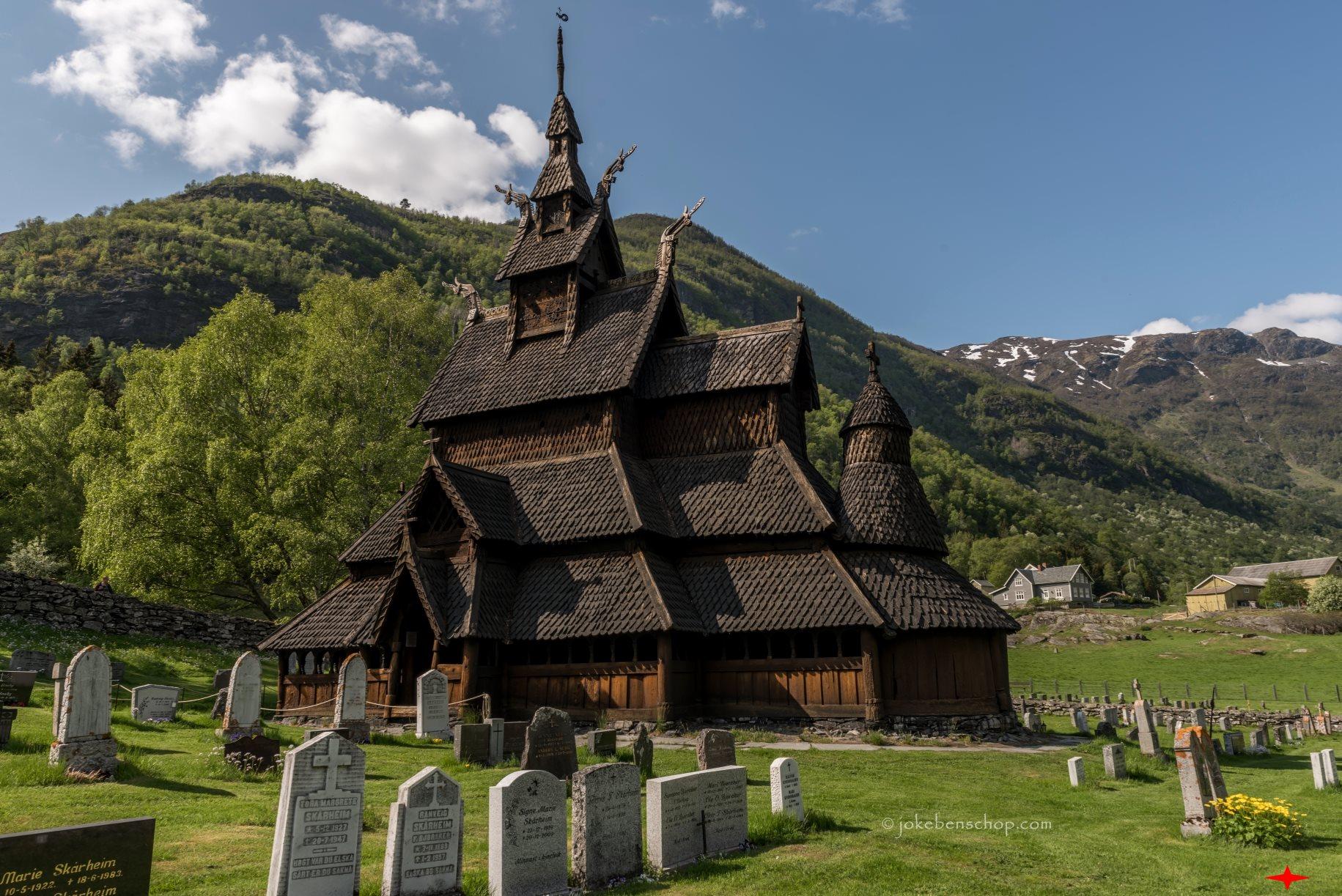 Staafkerk van Borgund Noorwegen