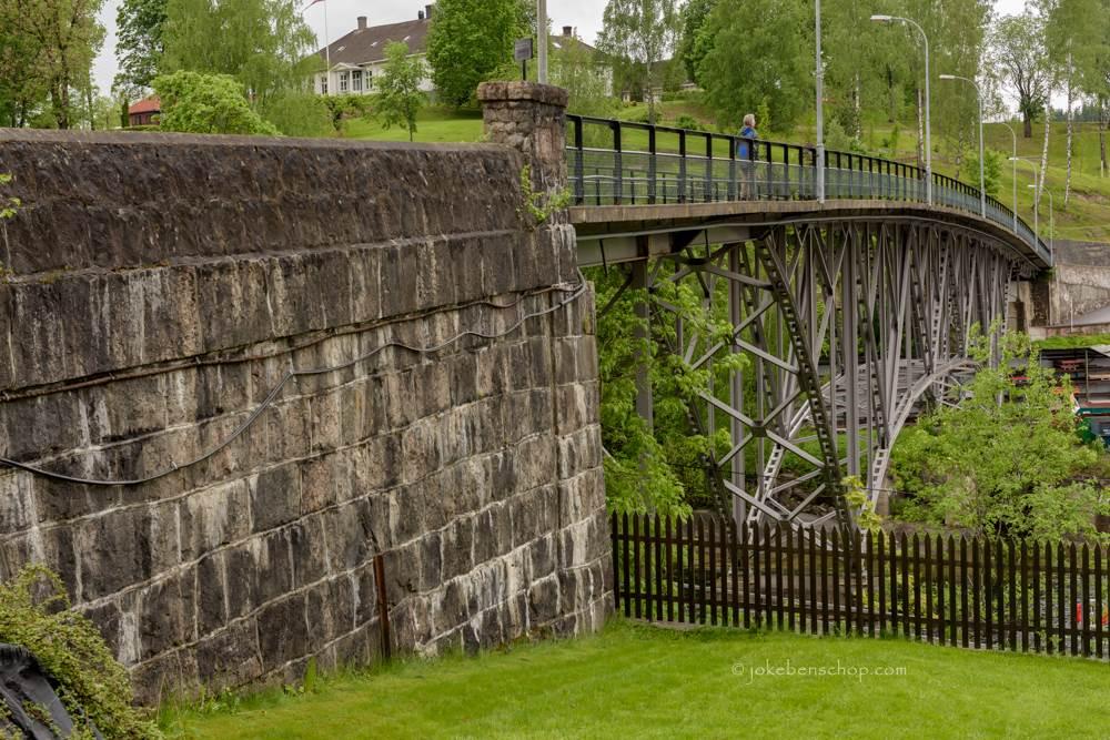 De brug bij Ulefoss