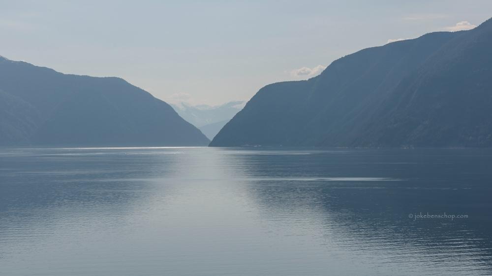 Fjord langs de E16