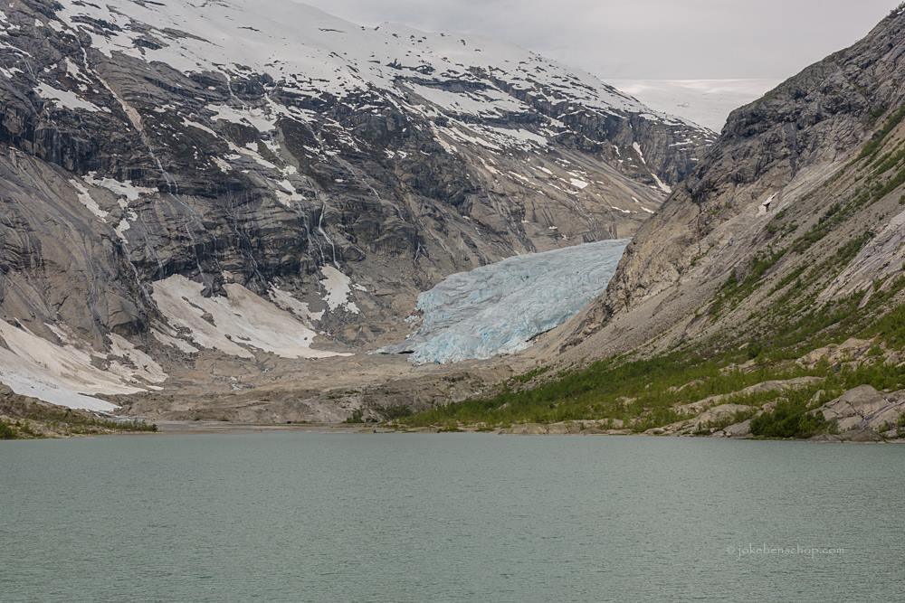Jostedalsbreen gletsjer Norway