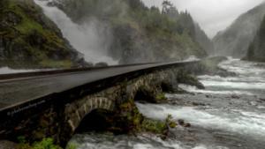 Heel Noorwegen op weg naar Eidfjord