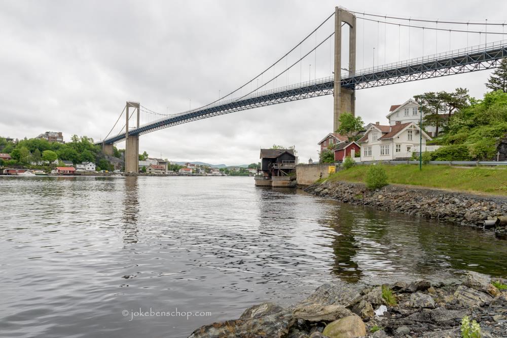 Langesund brug Noorwegen