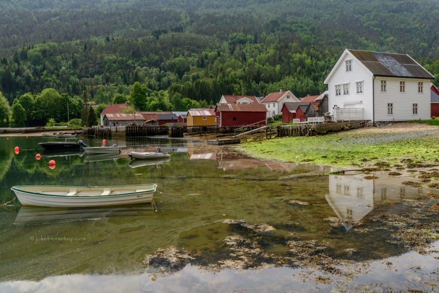 Een heerlijk rustig plekje aan het fjord