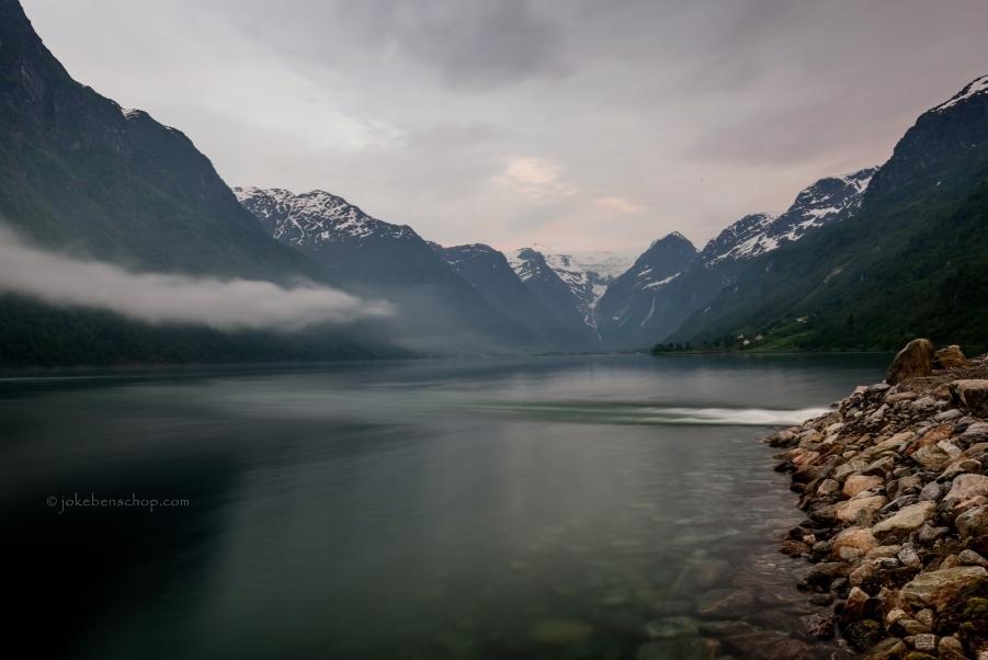 Fjord bij Olden