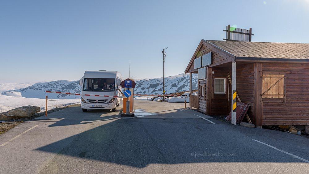 Tolpoortje op de Tindevegen Noorwegen