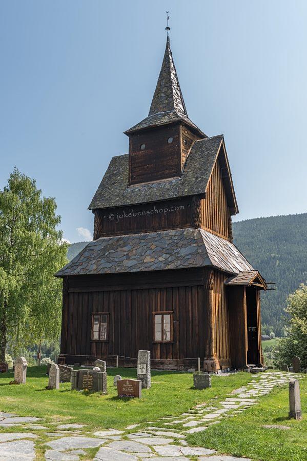 Staafkerkje van Torpo Noorwegen