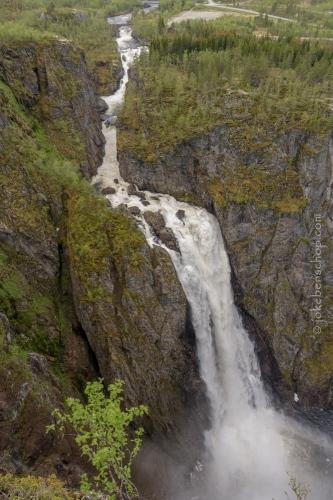 Vøringfossen, Eidfjord, Noorwegen