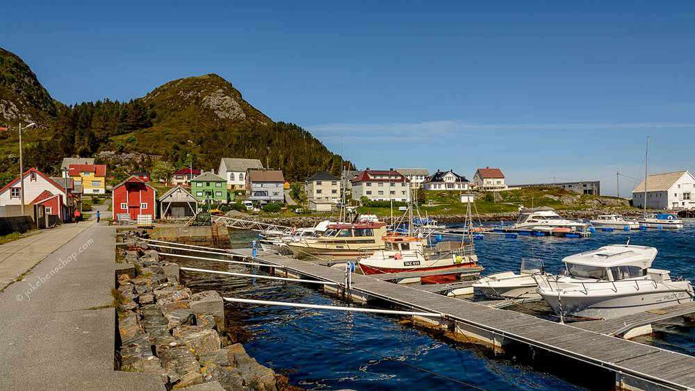 de haven van Runde Norway