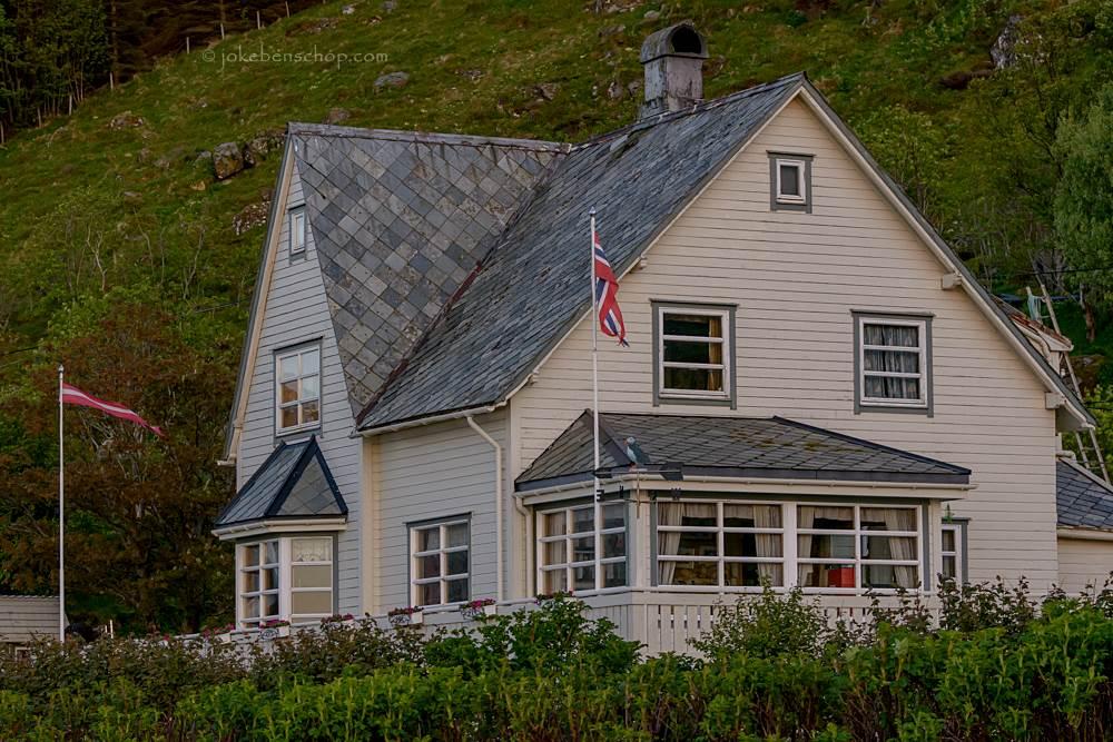 Noors huis Runde Norway