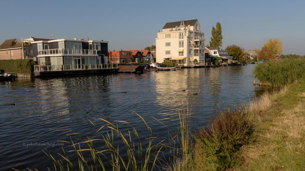Langs de Breevaart in Reeuwijk-brug