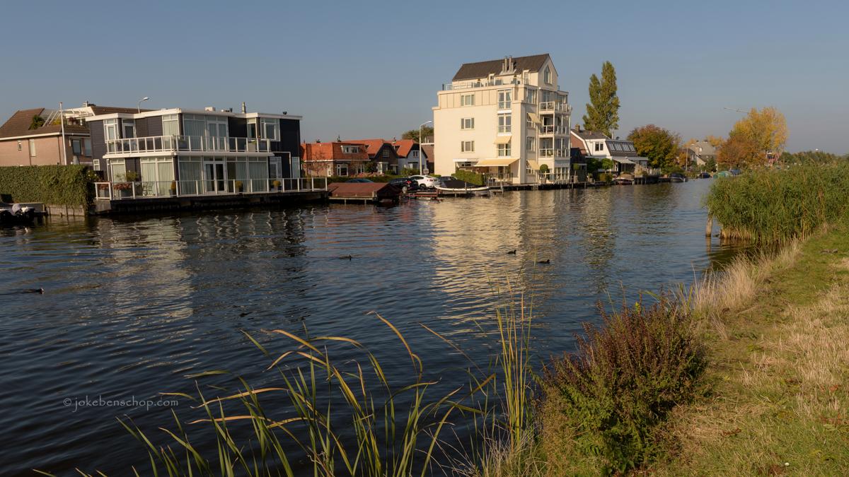 Langs de Breevaart in Bodegraven-Reeuwijk