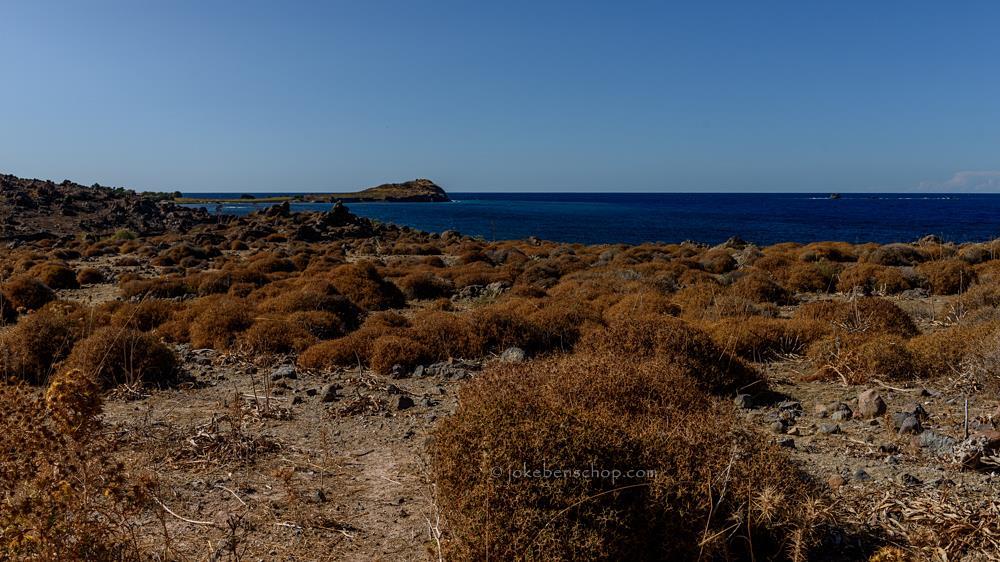 Baai bij Lapsarna Lesbos Greece
