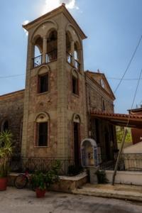 Kerktoren van Skala Kalloni