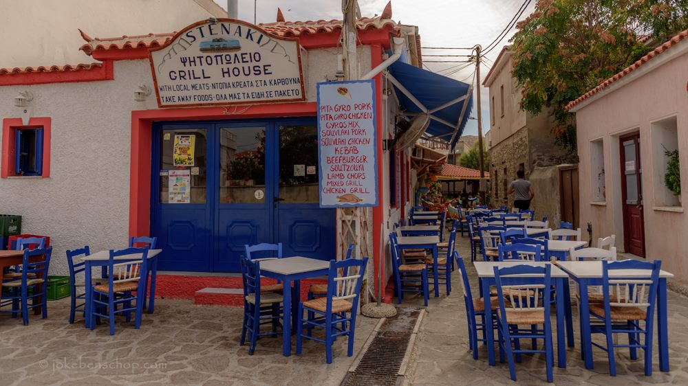 Skala Eressos taverne