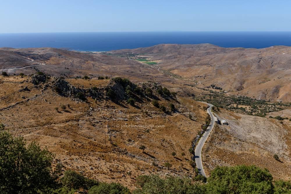 Uitzicht van af het klooster