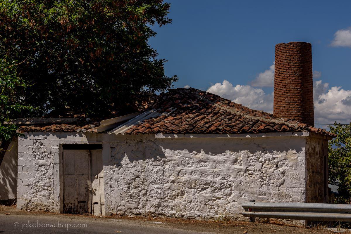 Een voormalig olijfolie fabriekje