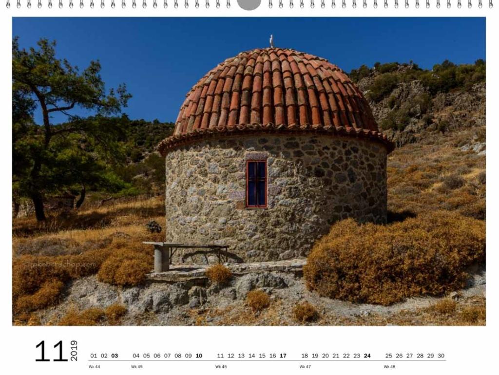 Kapelletje bij Moni Limonos monastery Lesvos Greece
