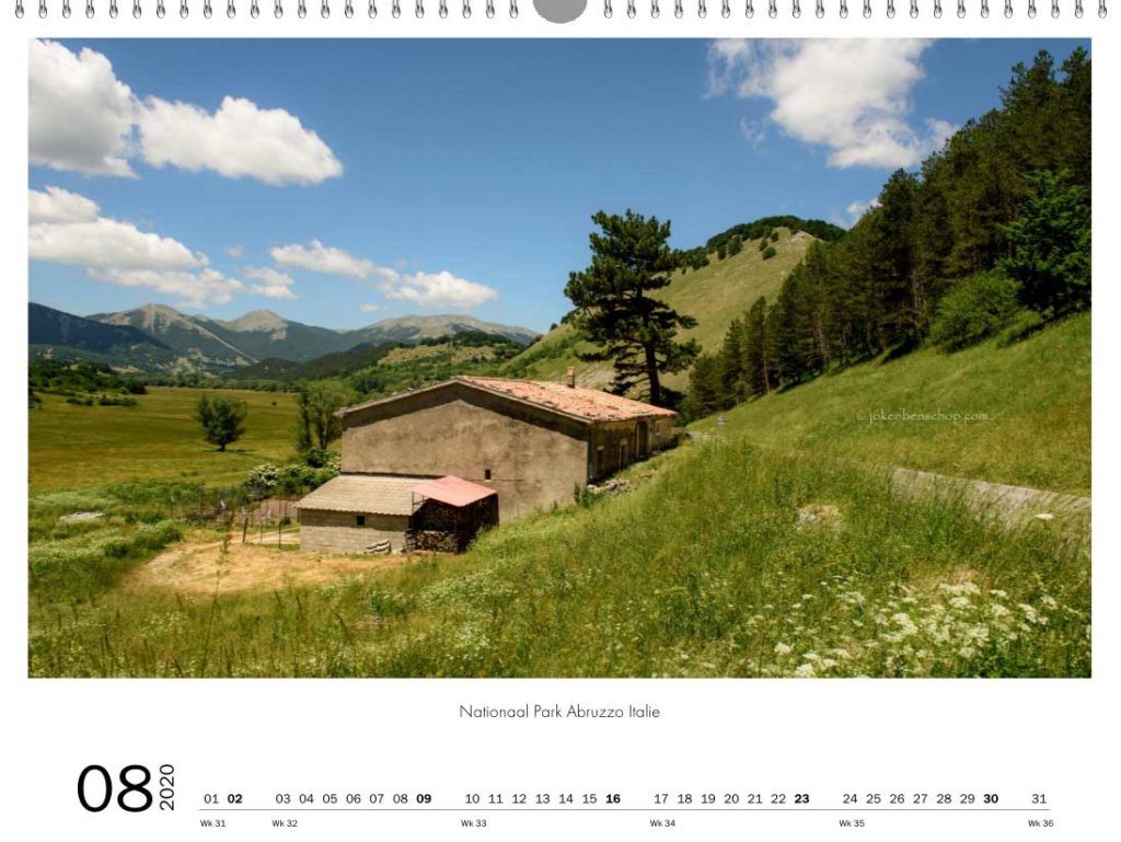 Nationaal Park Abruzzo Italie
